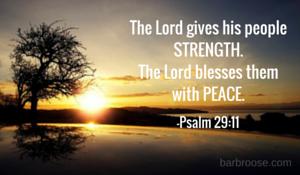 God's blessings for us...