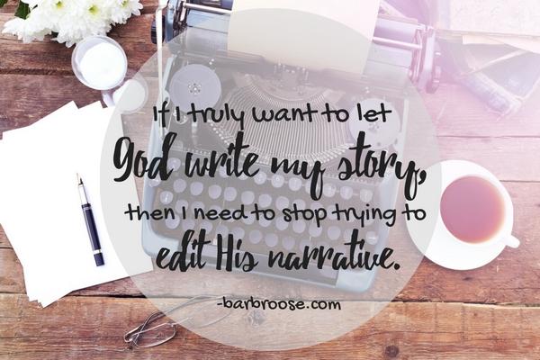 God write my story