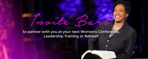 Invite Barb Roose Speak Women's Conference Leadership Training Retreat