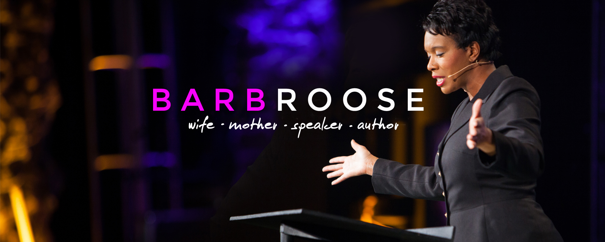 Barb Roose Speaker Author Wife Mother