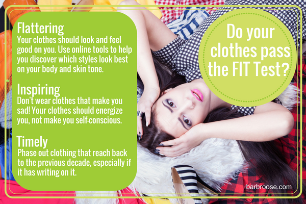 Clothes pass the FIT Test