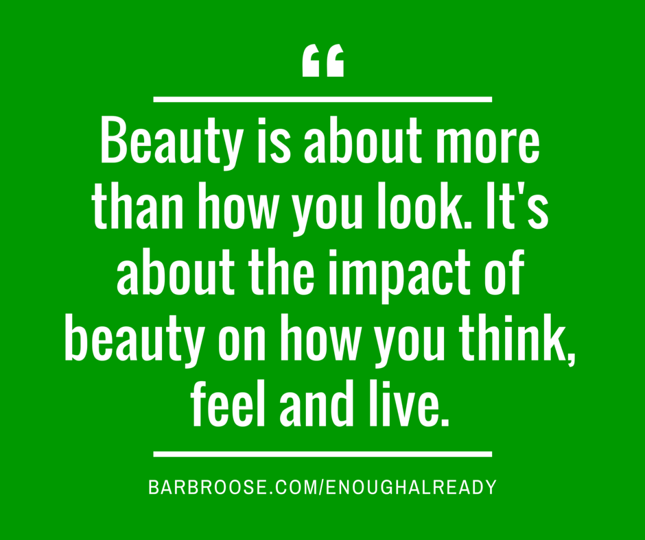 What is beauty about?