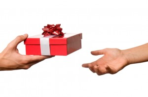 How to be a classy gift-RECEIVER by remembering three things…