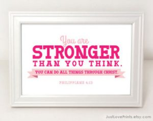 strong picture philippians 4 13