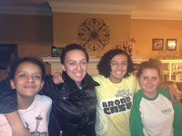 Abbie, Kate, Sami and Marie - Thanksgiving 2012