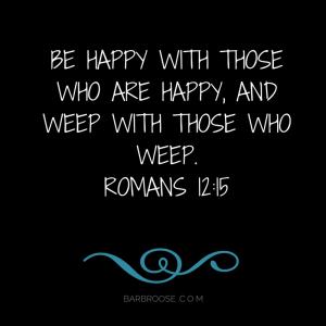 Romans 12.15