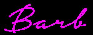 Barb Roose Signature