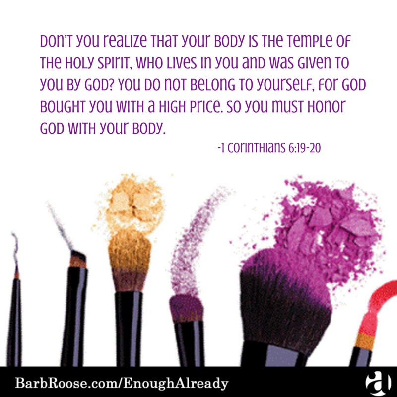 If God cares about your body, then you must care, too!