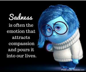 Sadness - Inside Out movie