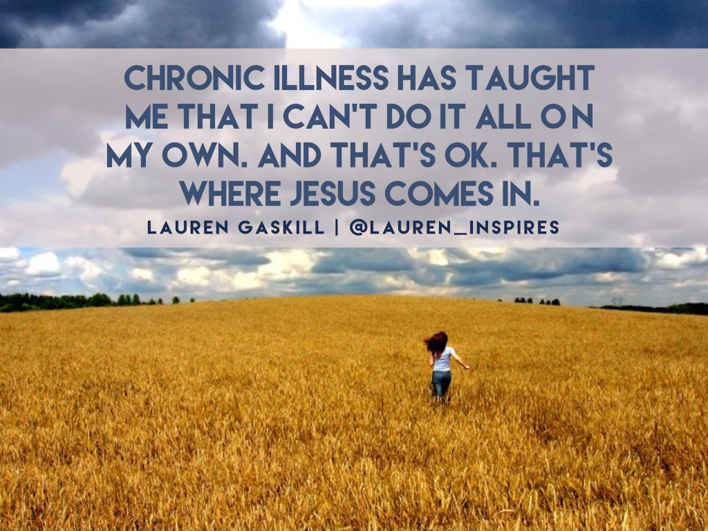 chronic illness_lauren gaskill quote