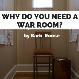 "Why do you need a ""war room?"""