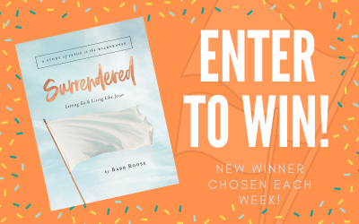 ENTER TO WIN – Surrendered Study Giveaway!