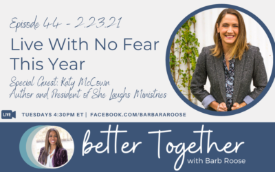 Live With No Fear This Year with Katy McCown
