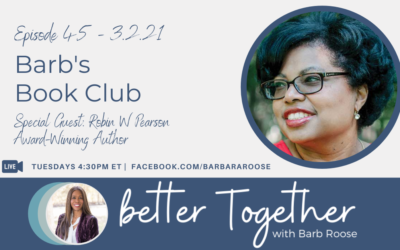 Barb's Book Club with Robin W. Pearson